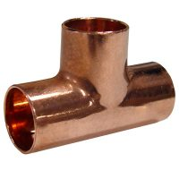 Air conditioner copper pipe Tee