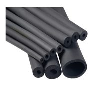 Rubber pipe insulation
